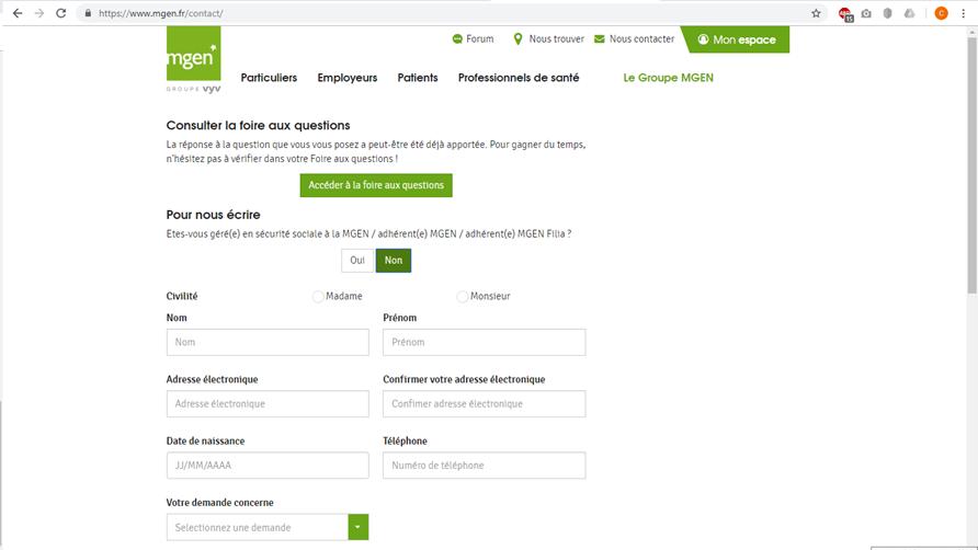 demande carte européenne d assurance maladie mgen Service Client MGEN   Contact rapide par téléphone   118500