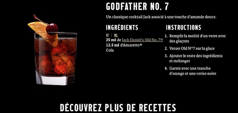 Cocktail Godfather n°7
