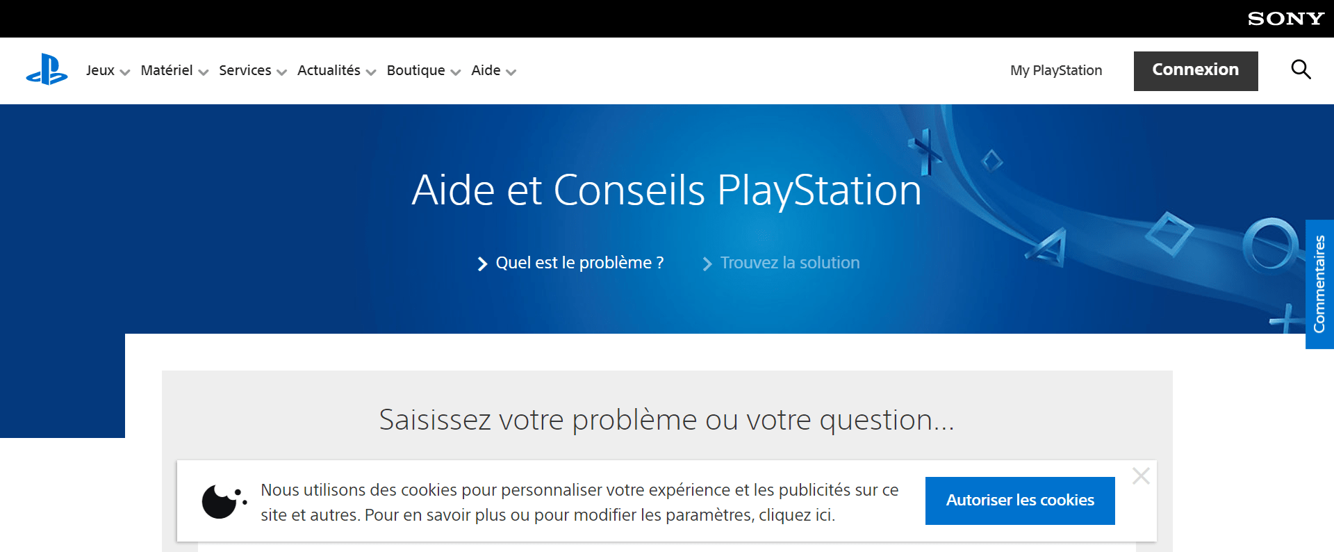 Service client playstation france