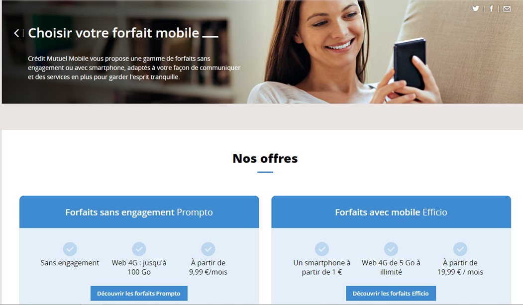 Service client Credit Mutuel Mobile