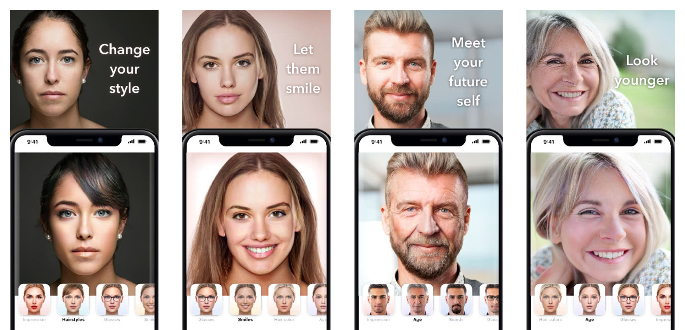 support faceapp